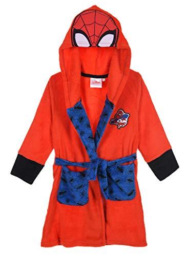 Spiderman Jungen Bademantel