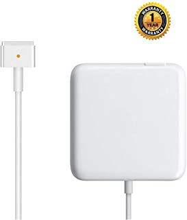 Sehonor Charger, Replacement for Mac Book Pro with 15 Inch Retina Display AC 85W Power Adapter Magsafe2 Charger (T-Tip)