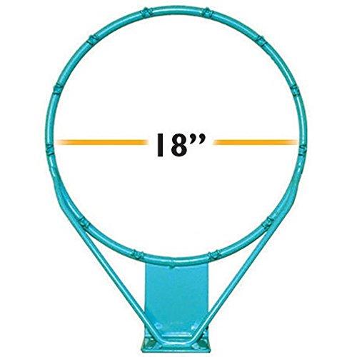 Dunnrite Splash & Shoot Stainless Steel Pool Basketball Rim - 18in