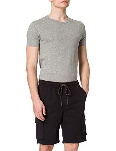 Urban Classics Herren Drawstring Cargo Shorts Cargos, Black, 5XL