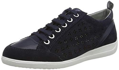 Geox D Myria D, Zapatillas Mujer, Azul (Navy C4002), 37 EU