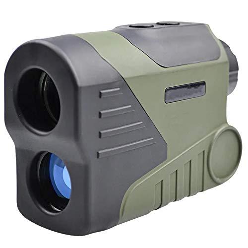 yaunli Telémetro de Golf 6X HD 1000M Visión Nocturna Digital Telescopio LED Distancia Monocular Transmisor de Alcance de Alcance para Golf Caza al Aire Libre Telémetro de Golf Impermeable
