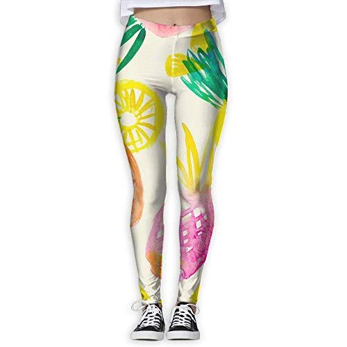 Axige888 Dames Broekje Zomer Ananas Vrouwen Sport Fitness Yoga Hardlopen Fitness Leggings Broek Sweatbroek