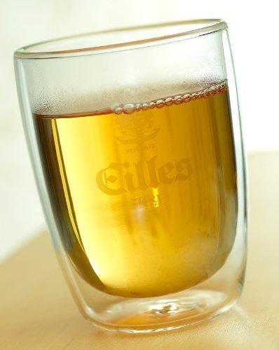 EILLES Design Tee Glas doppelwandig