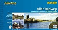 Aller-Radweg: Von Bremen nach Magdeburg. Mit Aller-Elbe-Radweg. 349 km, 1:50.000, wetterfest/reissfest, GPS-Tracks Download, LiveUpdate