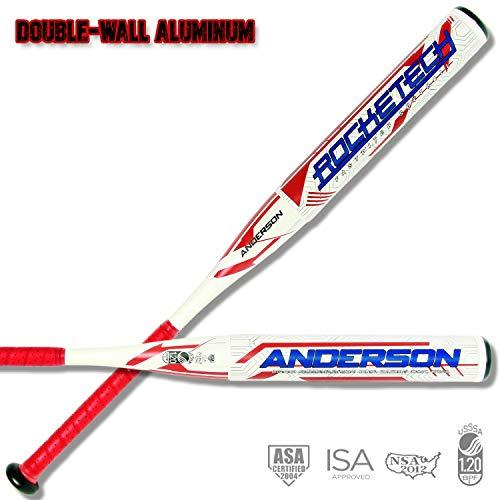 2020 Anderson Rocketech -9 Double-Wall Fastpitch Softball Bat (33 Inch / 24 oz.)
