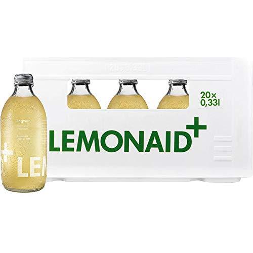 Lemonaid Ingwer, 20er Pack (20 x 0.33 l) MEHRWEG