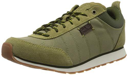 Jack Wolfskin Herren Mountain DNA Low M Sneaker, Beige (Khaki/Dark Moss 4283), 43 EU