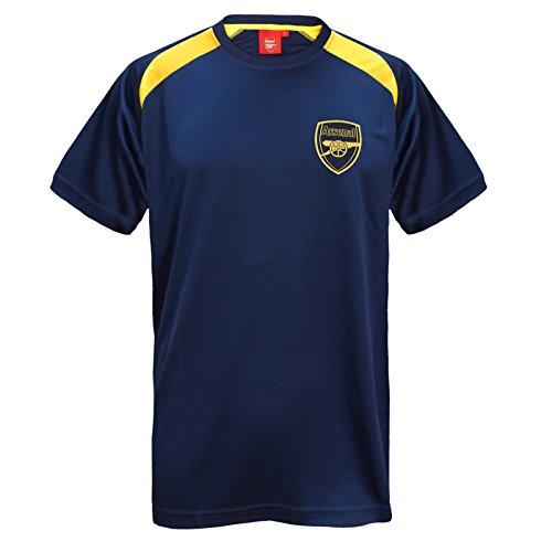 Arsenal FC - Herren Trainingstrikot aus Polyester - Offizielles Merchandise - Geschenk für Fußballfans - Marineblau - M