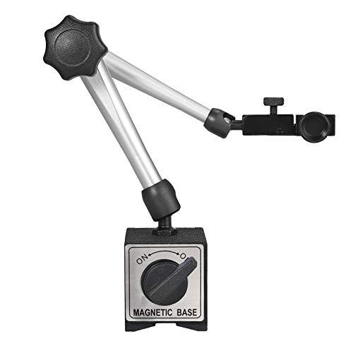 AUTOUTLET Soporte de Base Magnético Flexible para Indicador de Dial Digital, 14 Pulgadas Soporte de Indicador de Prueba de Metal Ajustable, 170 Libras (80 kg) Tracción Máxima