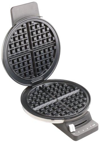 Cuisinart WMR-CA Round Classic Waffle Maker, Silver, 1