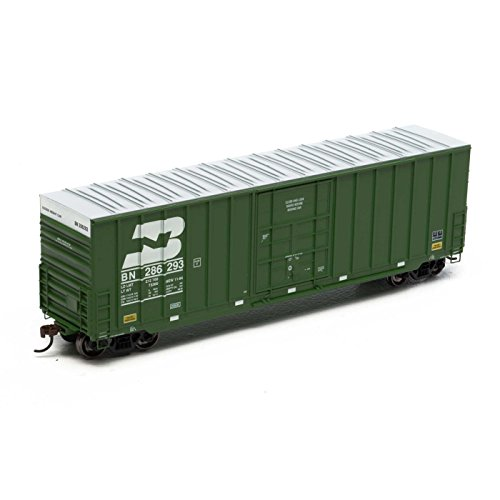 Roundhouse Athearn HO 50' Ext Post High Cube Plug Door Box,BN #286296