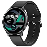 Smart Watch for Android iOS Phones Compatible with iPhone Samsung, CUBOT W03 IP68 Waterproof Fitness Tracker Smartwatch for Men Women Heart Rate Monitor Pedometer Sleep Monitor (Black)