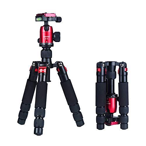 Mengen88 Draagbare Camera Statief, CNC Carbon Fiber Mini Statief met 360° Panoramische Ball Head En 1/4