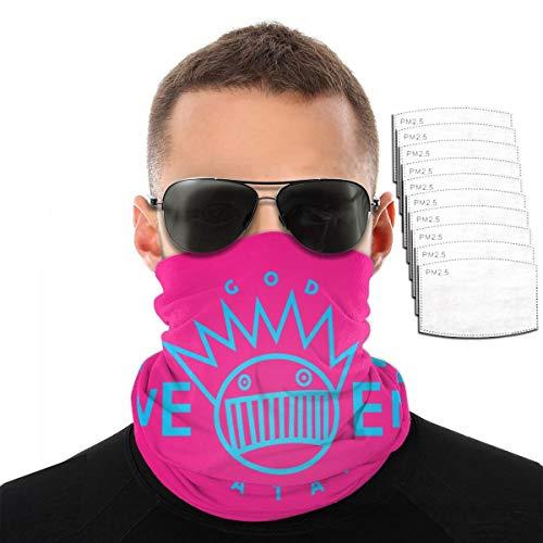 Boognish Schloads Balaclavas Dust Wind UV Neck Warmer With 10 Filter Face Mask