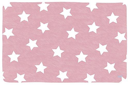 Lottas Lable 65003-6 Kinderzimmer Teppich Softie Stern Rose 130 x 190 cm