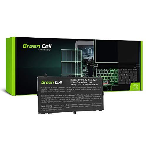 Green Cell (3.7V 15Wh 4000mAh) T4000E GH43-03911A Batería para Samsung Galaxy Tab 3 7.0 GT-P3200 SM-T210 SM-T211 SM-T217S SM-T285 SM-T285M Tablet