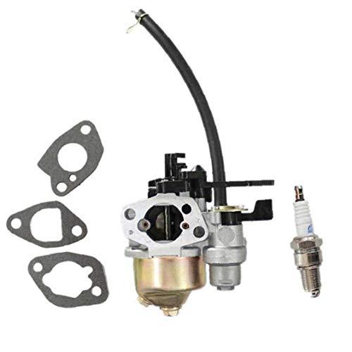 Carburador con la junta de la bujía para Honda GX140 Rotary-16100 ZE1-825 Cortacésped Piezas de repuesto