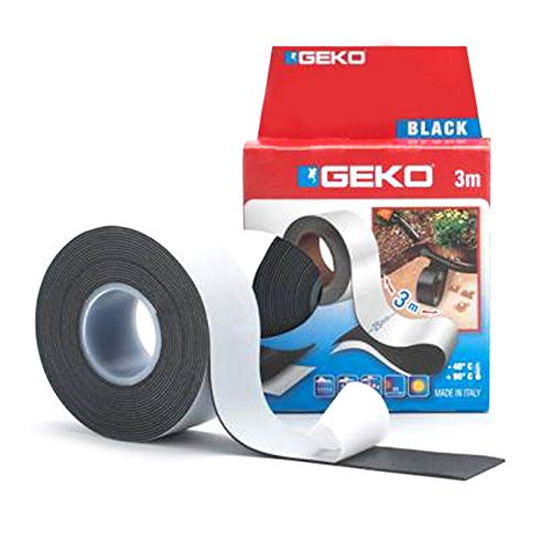 Geko 16000 Cinta adhesiva autovulcanizable, 25 mm x 3 m
