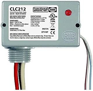 Functional Devices (RIB) CLC212 Closet Light Switch, Enclosed 10A SPST, 120-277 V