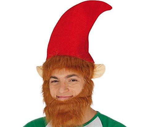 GUIRMA Cappello Elfo con Barba e Orecchie