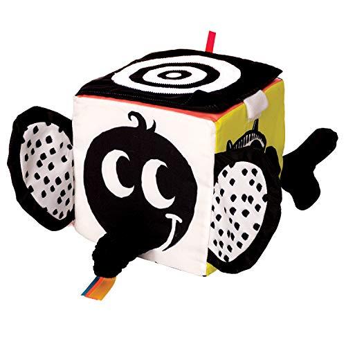 Manhattan Toy Wimmer-Ferguson Learning Cube-Jouet d'activité pour bébé Souple multisensoriel, 217510, Multicolore
