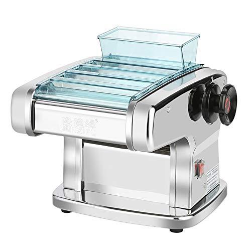 Macchina for la Pasta, Elettrico 220V Noodle Press Spaghetti Pasta Maker casalinghi in Acciaio Inossidabile Dough Convenienza (Dimensioni: A), del Seno: C (Size : B)