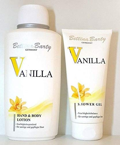 Bettina Barty Vanilla Set Body Lotion 500 ml & Shower Gel 150 ml
