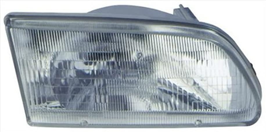OE Replacement Toyota Tercel Left Composite Headlamp Assembly (Partslink Number TO2502111)