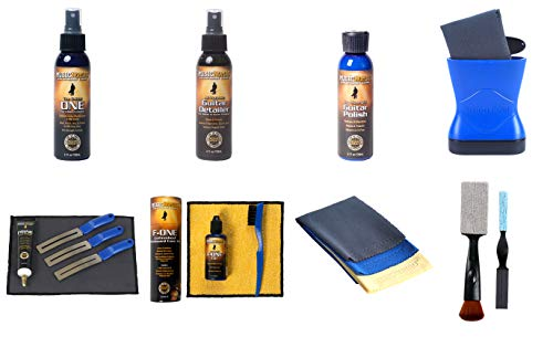 MusicNomad Total Guitar Spa 15 pc. Kit - Detail, Clean, Polish and Condition your Guitar or Bass