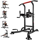 Power Tower Multi Workout Tire Up Chin Up Station Station Equipos de fitness,...