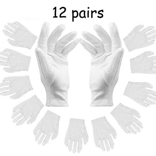 guanti cotone dermatologici Guanti Bianchi Cotone