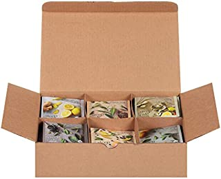 Steep Café Assortment, Black, Green, Herbal Tea, 60 Bags Box, Single Source, Premium Whole Leaf Teas in a Sachet Pyramid Bag, Individually Wrapped in a Foil Pouch, Hot or Iced, by Bigelow Tea