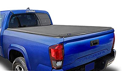 Tyger Auto T3 Soft Tri-Fold Truck Bed Tonneau Cover Compatible with 2019-2021 Toyota Tacoma (Does Not Fit Trail Special Edition with Storage Boxes) | Fleetside 6' Bed | TG-BC3T1631