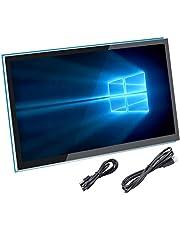 För Raspberry Pi 4-skärm, 5-tums HDMI kapacitiv pekskärm - 800 x 480 HD LCD-skärm (stöder Pi 4 och Pi 3 B+, fönster)