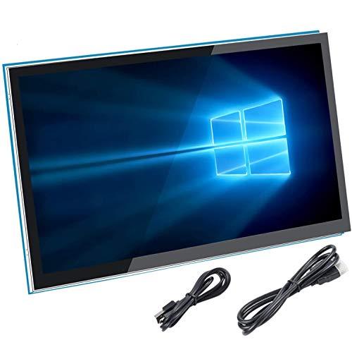 Für Raspberry Pi 4 Bildschirm, kapazitiver 5 Zoll HDMI Touchscreen Monitor - 800 x 480 HD-LCD-Bildschirm (Unterstützung von Pi 4 und Pi 3 B +, Windows)