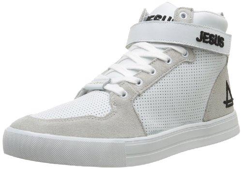 Eleven Paris Sneaker, Baskets Mode Homme - Blanc (Jesus), 40 EU