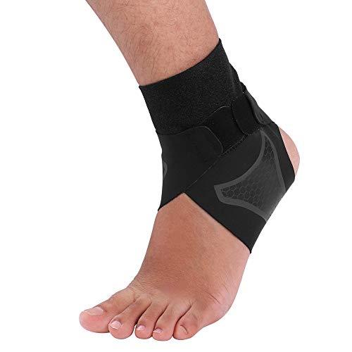 Tbest Knöchelbandage Atmungsaktives Neopren Fuß-Bandage Einstellbar Fußgelenkstütze Hilft Verstauchungen zu verhindern, Sprunggelenkbandage für Damen, Herren, Kinder(S-Pied Gauche)