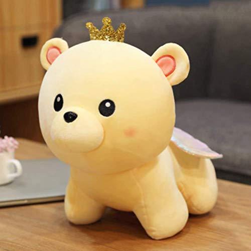 Kleine Bären Plüschtier Puppe Für Mädchen Bett Umarmung Prinzessin Bär Kind Schlafendes Kissen 25 cm a Laimi (Color : C, Size : 25cm)
