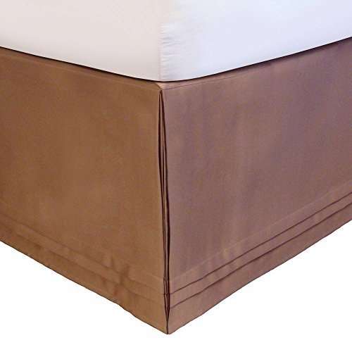 Veratex Adjustable Bed Skirt King, Taupe Hike Up Your Skirt