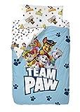 Nickelodeon Paw Patrol Group Saco Nórdico de 2 Piezas para Cama de 90, Cotton, Multicolor