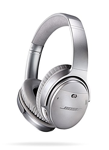 Image of the Bose QuietComfort 35 (Series I) Wireless Headphones, Noise Cancelling - Silver