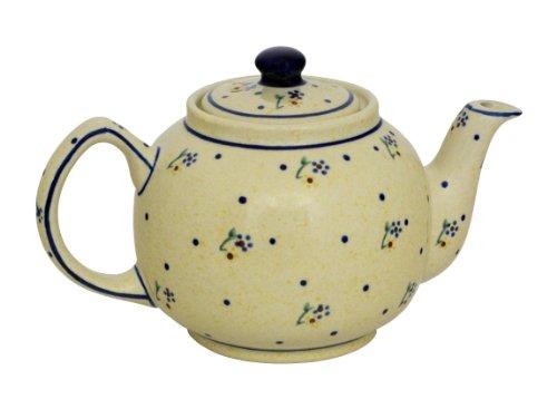 Original Bunzlauer Keramik Teekanne 1,00 Liter im Dekor 111