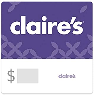 Claire's Gift Cards (Redemption Online Only) - E-mail Delivery