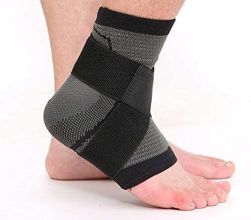 Sywlwxkq 1 Stks 3D Sport Ankle Brace, Beschermer Compressie Enkel Ondersteuning Pad Elastische Nylon Band Brace Voor Voetbal Basketbal