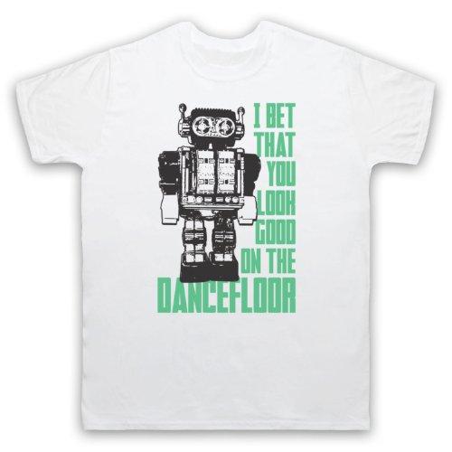 Arctic Monkeys I Bet That You Look Good On The Dance Floor Herren T-Shirt, Weis, XL
