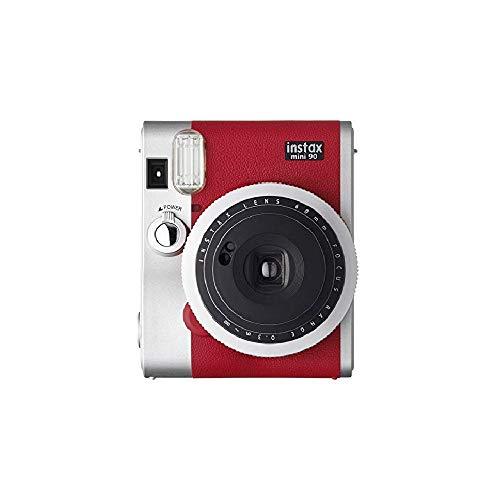 FUJIFILM インスタントカメラ チェキ instax mini 90 ネオクラシック レッド INSTAX MINI 90 RED