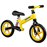 lquide Laufrad Kinder, Laufrad Baby Laufrad Baby Walker Spielzeug FüR 2-6-JäHrige No Pedal Kids Lernautos, Yellow