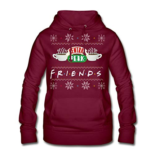 Spreadshirt Friends Central Perk Ugly Christmas Vrouwen Hoodie