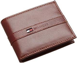 Tommy Hilfiger 31TL22X062251 Leather Men's Wallet Ranger Passcase, Tan